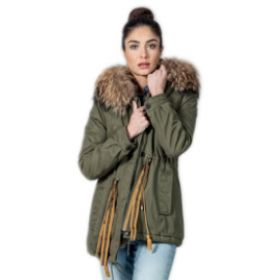 Chamonix Clementine Icon Racoon Woman Parka