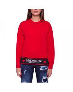 Love Moschino Maglia Girofascia Nera